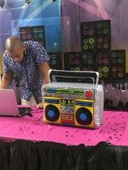 Block party DJ