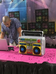 Block party DJ