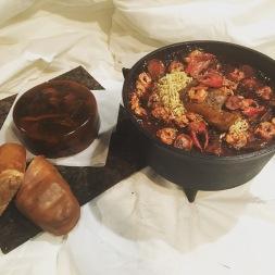 Historic faux food; Historic fake food; gumbo; daube glace